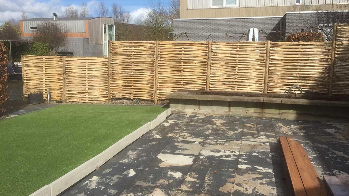 Hoveniersbedrijf Noord-West - Renovatie tuin Groningen (Reitdiep)