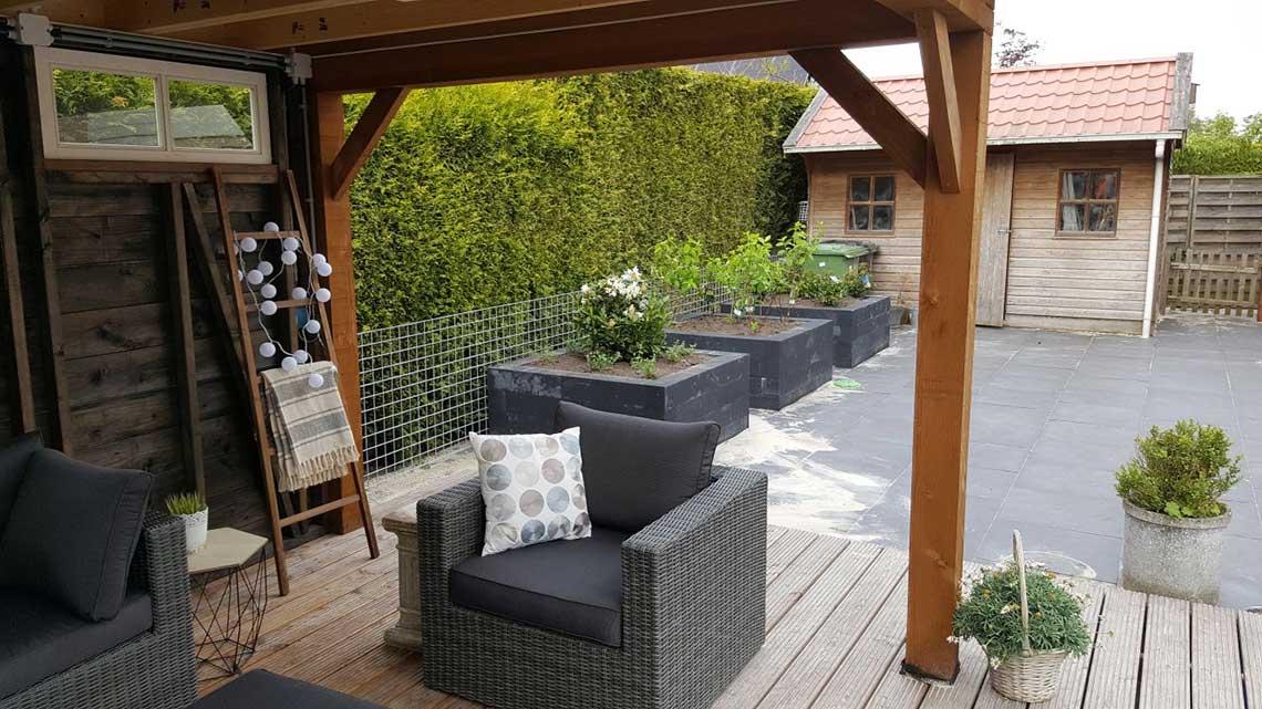 Hoveniersbedrijf Noord West - Renovatie tuin Leek